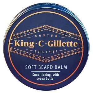 King C Gillette Soft Beard Balm with Cocoa Butter